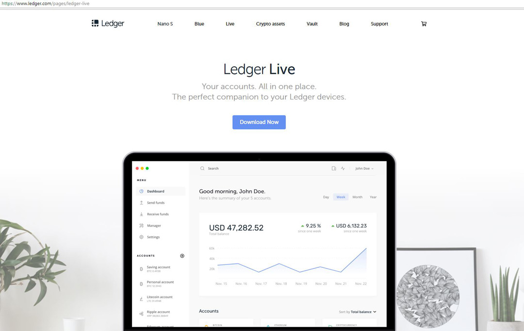 2 Install The Application And When You Open It A Window Will Appear As Shown In Image Below If Are Using Ledger Nano S For First Time
